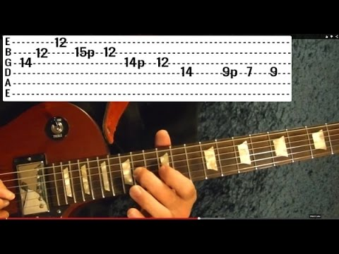 10 MUST LEARN Electric Blues Riffs – Guitar Lesson – ( With Printable Tabs! )