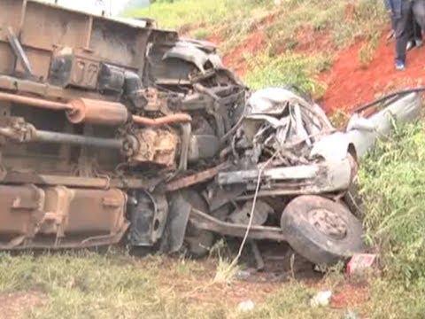 Accident along Nyeri Nyahururu hihway claims 4 lives