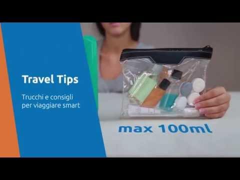 Travel Tips: Portare liquidi in valigia