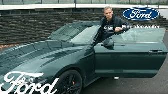 Matthias Malmedie gibt dem Ford Mustang BULLITT die Sporen | Ford Deutschland