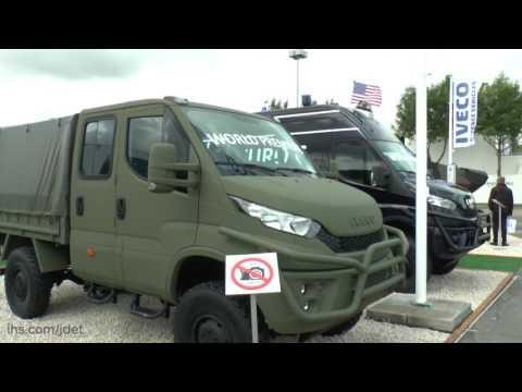 Eurosatory 2016: IHS Jane's talks about the new Iveco M70.20WM logistics vehicle