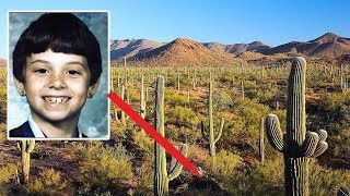 8 Yaşındaki Çocuk Kaybolduktan 7 Ay Sonra, Yürüyüş Yapan Biri Çölde İskelet Kalıntıları Buldu!