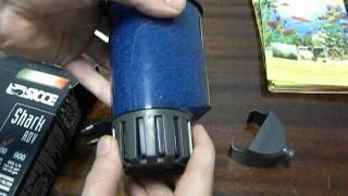 Обзор внутреннего фильтра Sicce Shark ADV 400.AVI