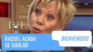Raquel Argandoña acaba de jubilar   Bienvenidos