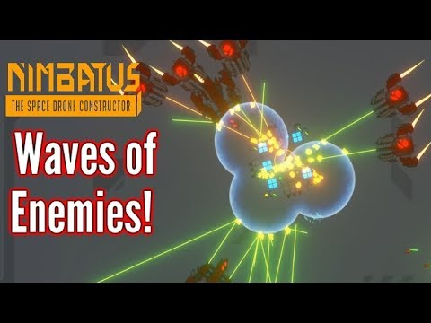 Nimbatus   Battle Arena! Waves of enemies!   Gameplay & Build
