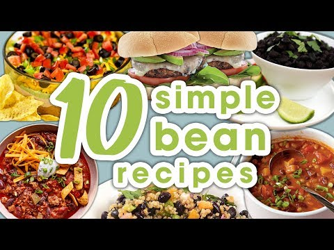 10 Easy Bean Recipes | Best Recipe Compilation for Canned or Dried Beans