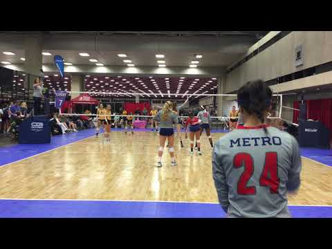 Metro 18 Travel vs Milwaukee Sting Set 2