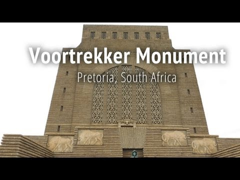 The Voortrekker Monument in Pretoria, South Africa
