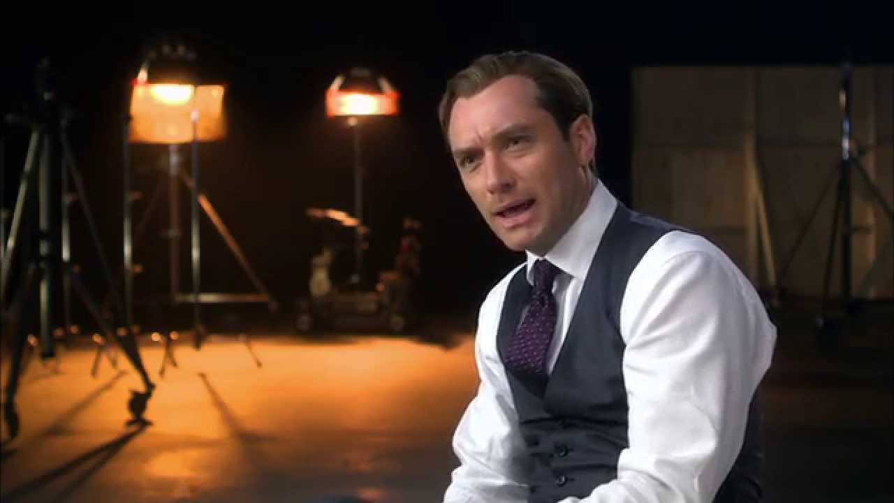 spy official movie interview jude law youtube