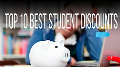 Top 10 Student Discounts (Fall 2016)