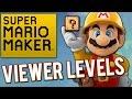 Super Mario Maker - Viewer Levels!