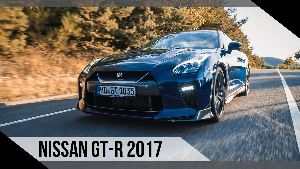 Nice Nissan GT R Black Edition | 2017 | Review | Test | MotorWoche