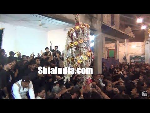 19th Muharram Badi Bargah-e-Hzt Abbas (A.S) Majlis &  Alam-e-Mubarak Procession