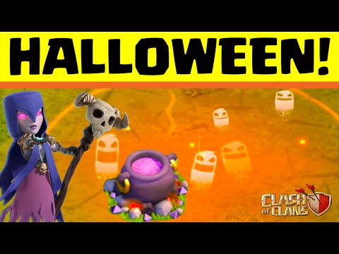 Clash of Clans ♦ Halloween Event 2015! ♦ CoC ♦