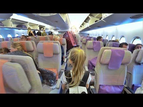 ВЛОГ  ОАЭ 🇦🇪 Перелет домой! Emirates airlines Airbus A380-800 Дубай - Москва Домодедово 29.11.2017