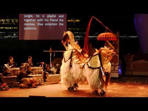 20140426 Barong: Ritual Theatre of Bali - Esplanade Outdoor theater