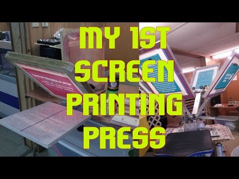 Screen Printing Equipment For Beginners