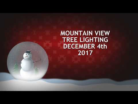 Mountain View Tree Lighting 2017