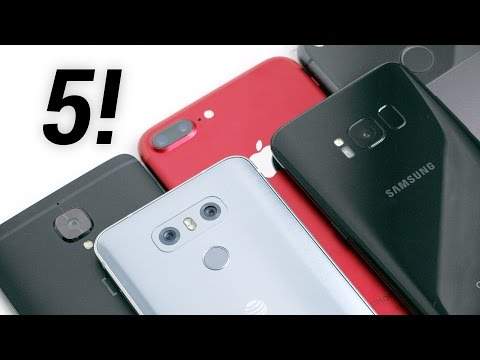 Top 5 Smartphone Cameras: The Blind Test!