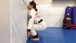 Single movement / Pass guard base drill:柔術 パスガード 一人打ち込み thumbnail