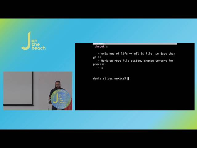 Containers, VMs, Processes… Isolation, performances, I/O… by Quentin Adams - JOTB