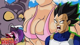 Vegeta Reacts To Dragon Ball Super Parody Bulma Super Human AKA Pudding