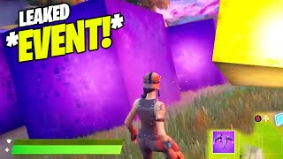The Cube Awakening EVENT LEAKED - More CUBES!! (Fortnite GOLDEN CUBE Event)