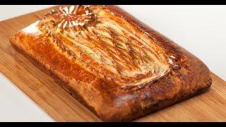 Пирог из слоёного теста со сливочной курицей и луком-пореем и чай масала | Дежурный по кухне