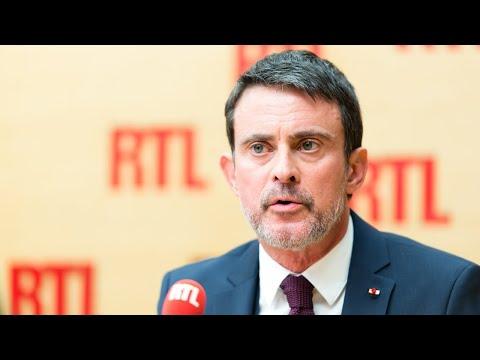 Manuel Valls est l'invité de RTL