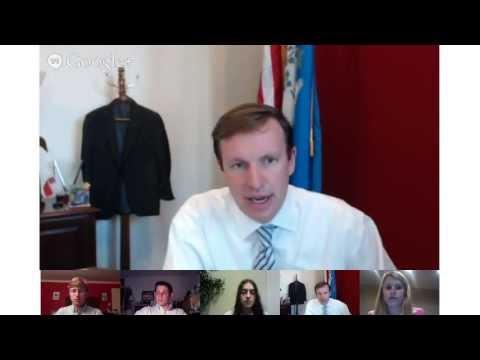 Senator Chris Murphy Google Hangout June 24, 2013