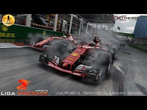 TREINO OFICIAL E RESUMO SEMANAL - F1 & STOCK CAR COM RODOLFO SECO - LIGA PRORACE E-SPORTS