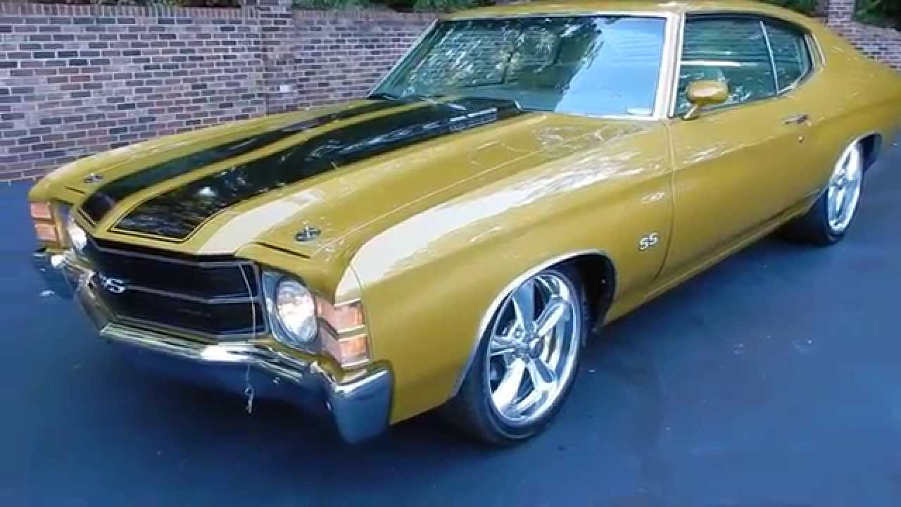 1971 Chevelle SS in gold for sale Old Town Automobile in Maryland ...