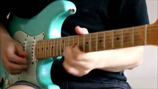 Sunday morning vibes with Fender Stratocaster bridge humbucker EVH