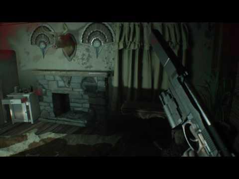 Resident Evil 7  ( the 3 treasure spots )