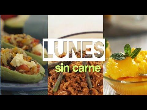 Menú Para Lunes Sin Carne Qué Hago De Comer Hoy Youtube