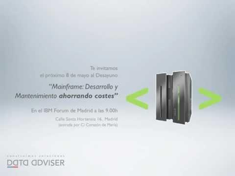 "Desayuno ""Mainframe"" 8 mayo IBM Forum Madrid - DATA ADVISER"