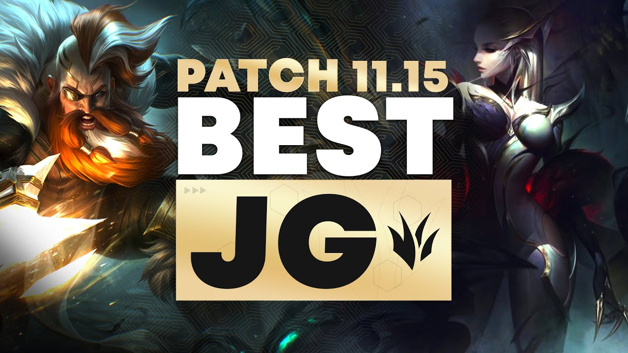 Download The BEST Junglers For All Ranks!   Patch 11.15   Tier List League of Legends Season 11