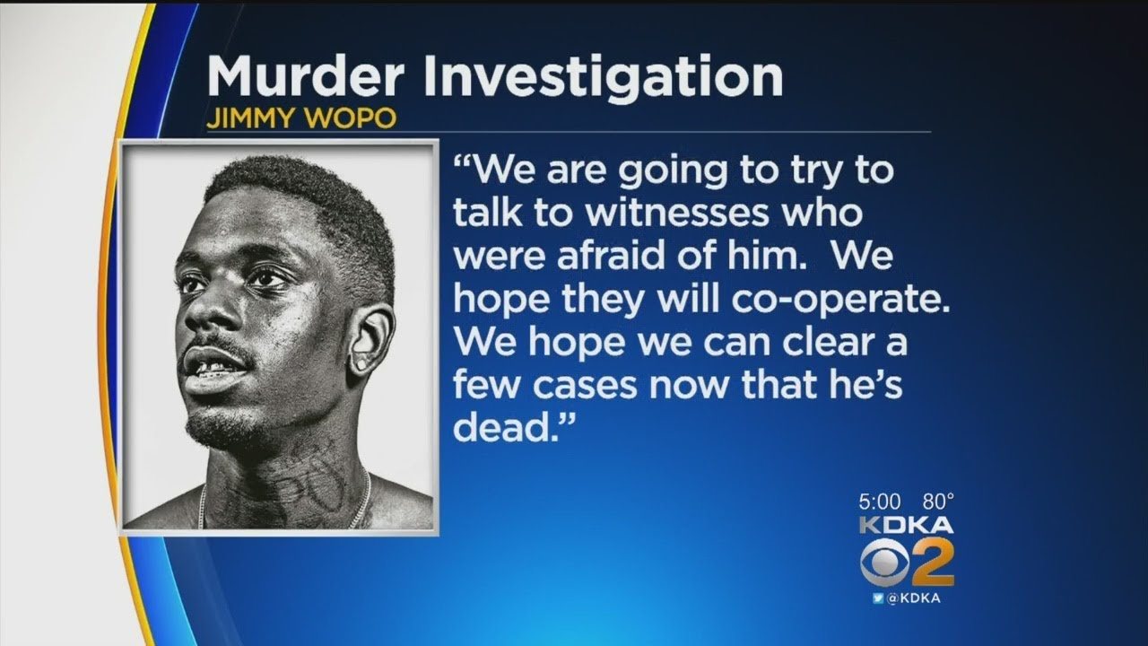 Sources: Slain Pittsburgh Rapper Jimmy Wopo Investigated For