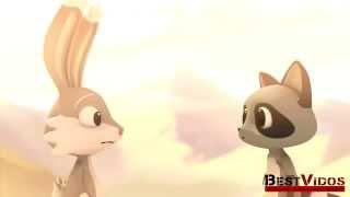 Мир животных: друзья или соперники? Философский мультфильм Мост