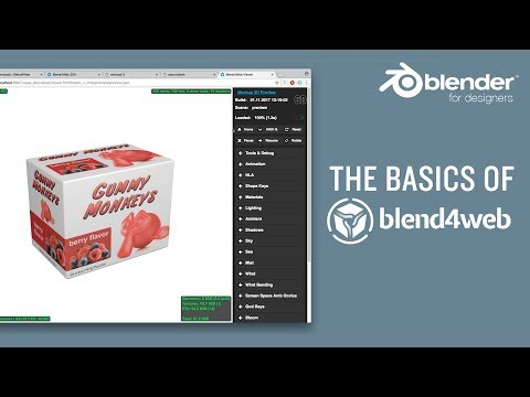 The basics of Blend4Web – getting your models online