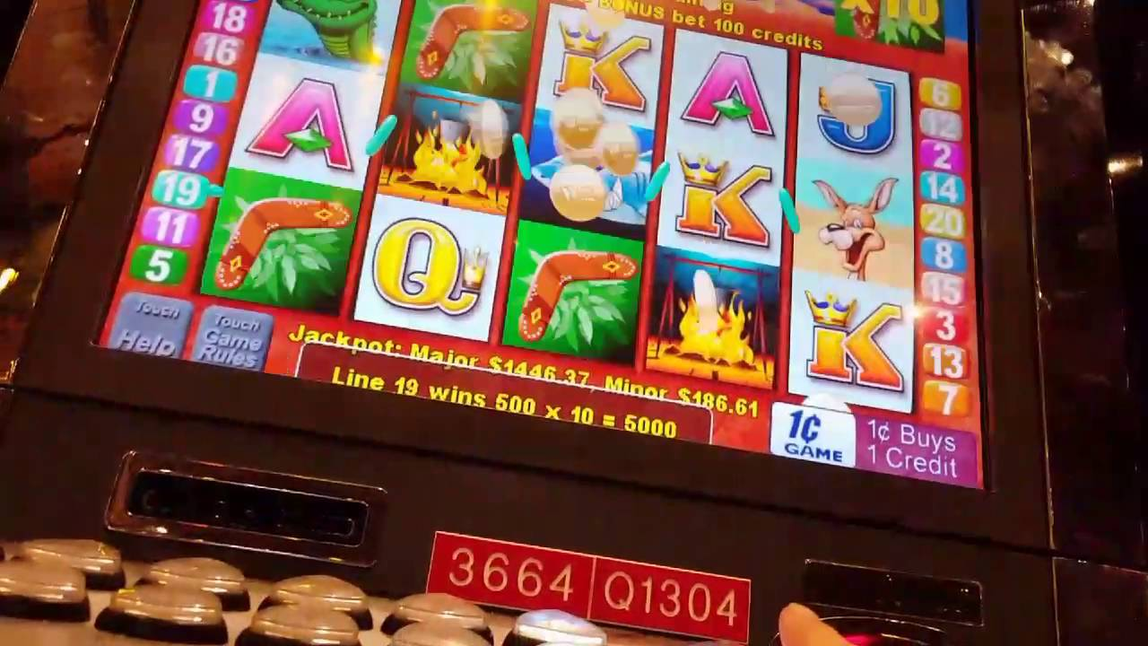 Play outback jack slot machine online free