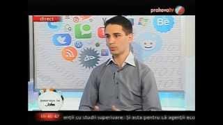 Marius Achim în emisiunea Generaţia lui John, la Prahova Tv