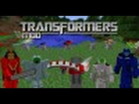 скачать мод на трансформеров для майнкрафт 1.7.10