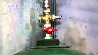 Как увеличить объем ресивера компрессора, ресивер из газового баллона