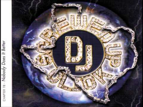 DJ Screw - Nobody Does It Better (Disk 1 & 2)