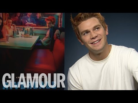 K.J Apa on His American Accent, Cole Sprouse & Riverdale Season 2 | Glamour UK