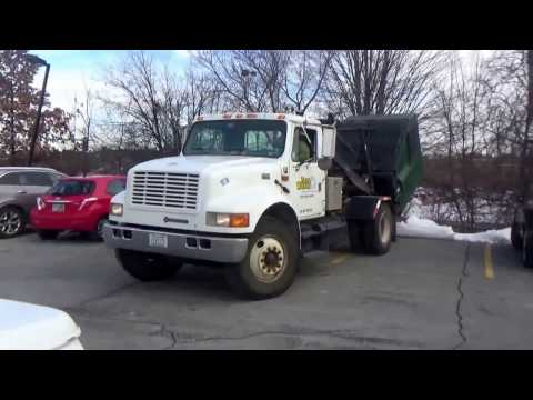 Zero Waste & Recycling Services 31 ~ International 4900 Stellar Container delivery Truck