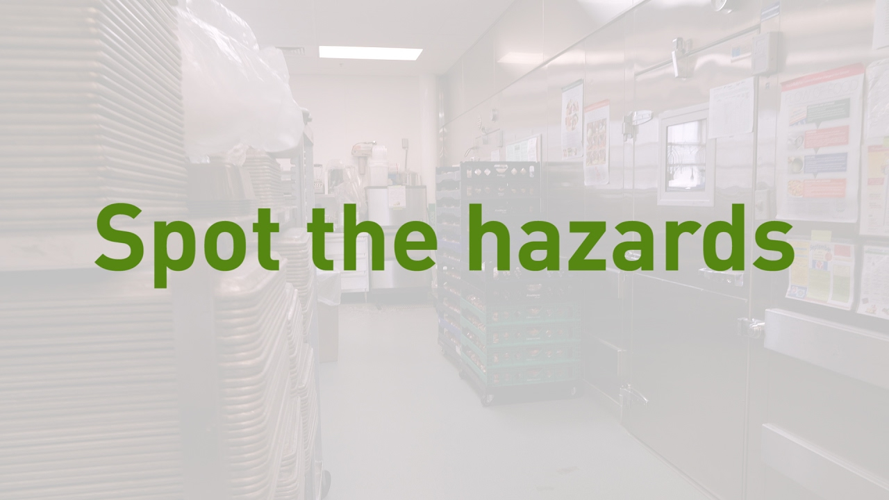 Spot the hazards: kitchen walkthrough - YouTube