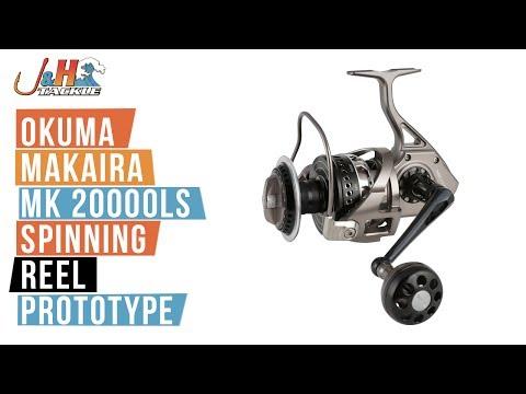 Okuma Makaira MK 20000LS Spinning Reel PROTOTYPE | J&H Tackle