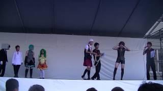 この映像は、2012年度早稲田高校興風祭で行われたイベントです。